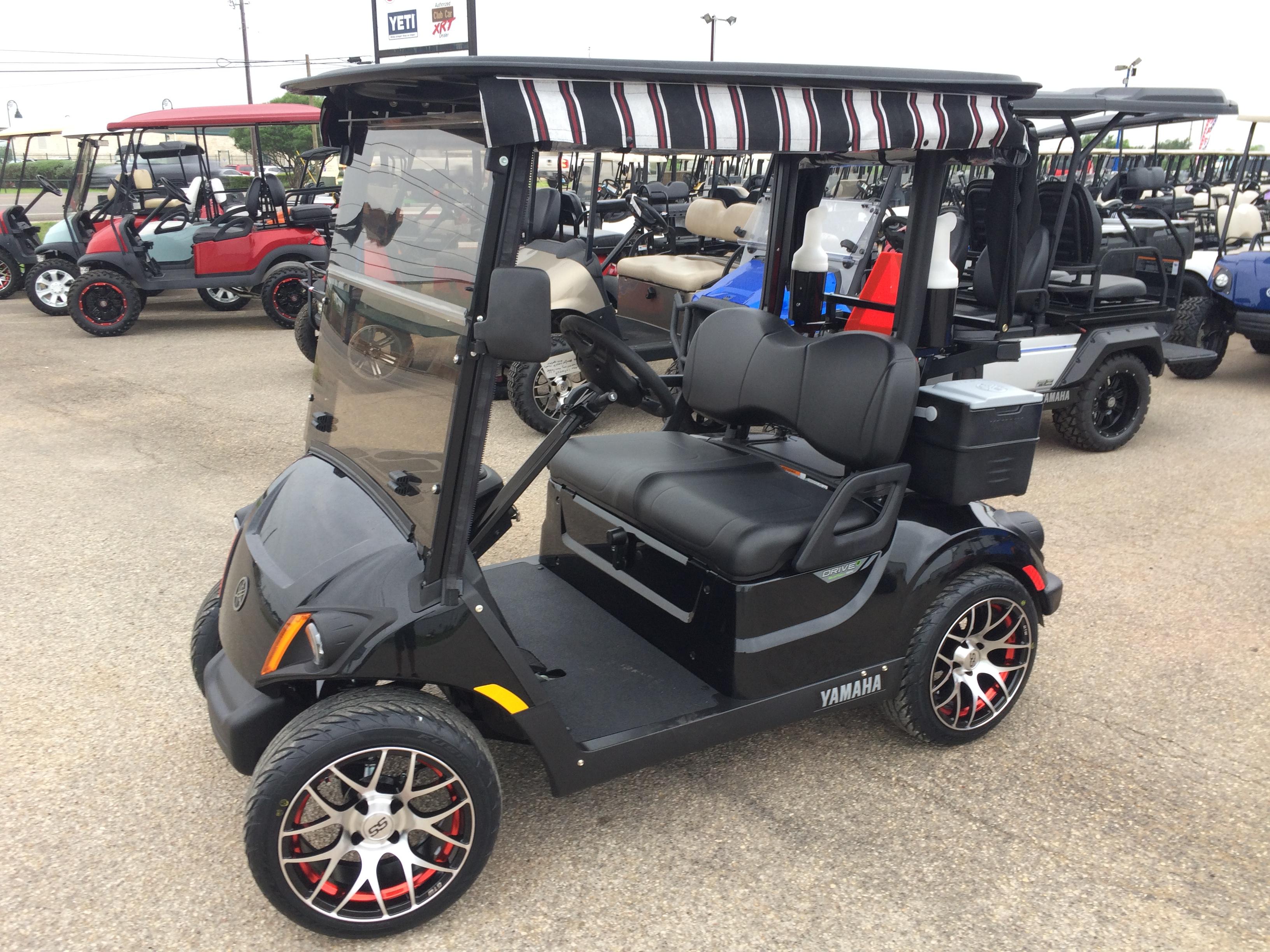 2019 Yamaha Quietech Gas Ennis Golf Carts