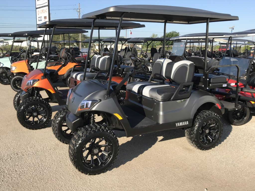 Pre Owned Ennis Golf Carts